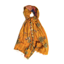 kantha scarf uluberia _Kantha Seiden Schal