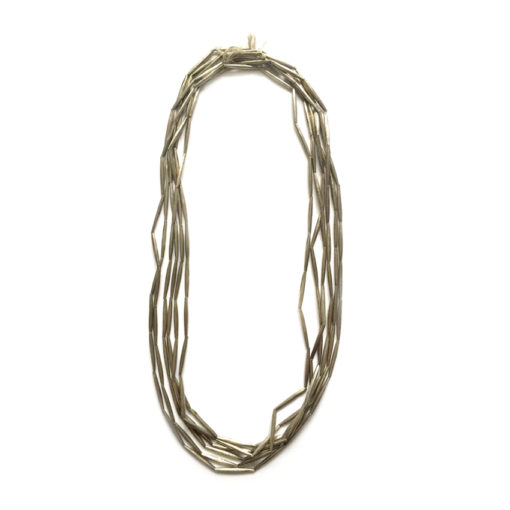 handcrafted silver Necklace from Mali