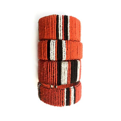 Maassai Armreifen handgefertigt, handmade bracelets