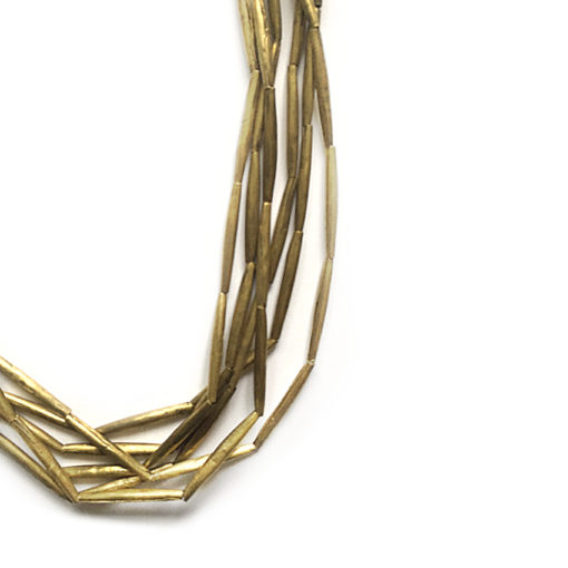 handcrafted bronce Necklace from Mali