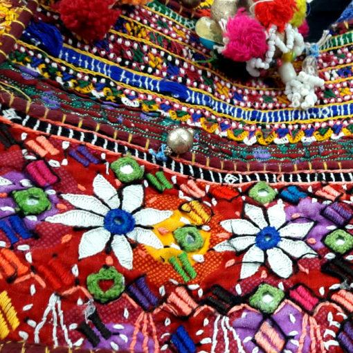 Banjara handgefertigte Tasche aus Rajasthan, indien - vintage Shopper handcrafted in India