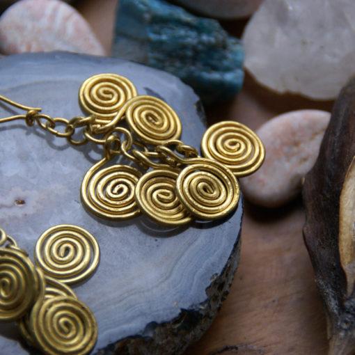 earrings Gipsy G´s - handcrafted dokra earrings