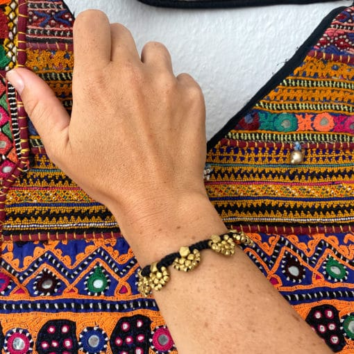 "handgefertigtes dokra armband ""warrior"""