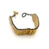 flat snake bracelet, dokra schlangenarmband