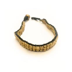 bracelet flat snake bracelet, armband, messingarmband, vintage armband, bohobracelet