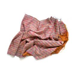 upcycled sari kantha schal, Kantha stoff, vintage sari stoffe, kantha stiching, Saristoff
