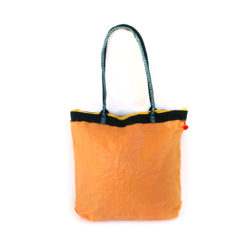 upcycled XL shopper made of recycled flour bag , Tasche aus recyceltem Kunststoff, upcacled WEizenmehlsack