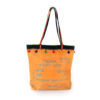 upcycled XL shopper made of recycled flour bag , Tasche aus recyceltem Kunststoff, upcycled WEizenmehlsack