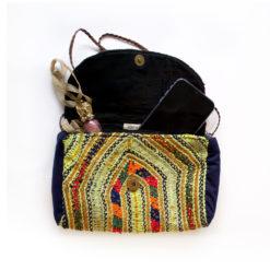 Clutch Sweet and sour, handtasche, handgemacht,einzigartig, einzelteil, handgemacht