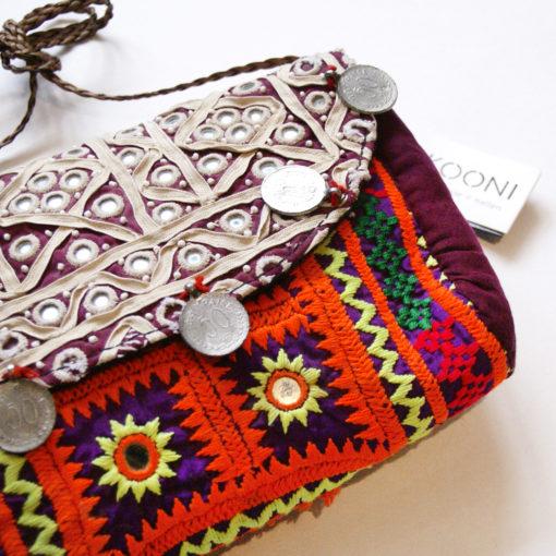 clutch boldschool ,vintage banjara textiles, clutch , abendtashe , handtasche, tasche, bag