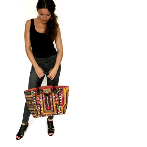 """banjara bag_"""" handcrafted, unique piece made of vintage banjara fabrics"""