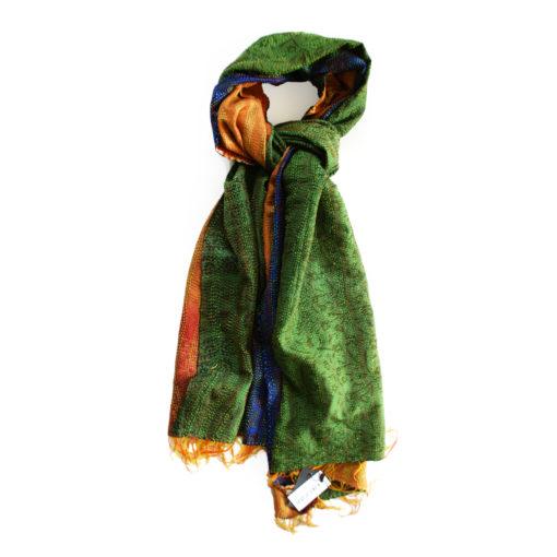 handcrafted_Kantha scarf_Indeka_embroidery_Kantha Schal