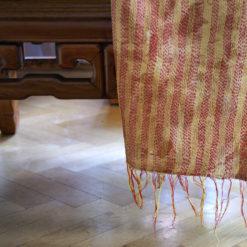 upcyled kantha scarf Sari fabrics - , Kantha stoff, vintage sari stoffe, kantha stiching,kantha schal