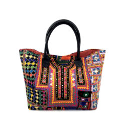 "banjara bag_"" handcrafted, unique piece made of vintage banjara fabrics"
