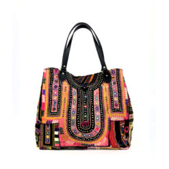 "banjara bag_pinklove"" handcrafted, unique piece made of vintage banjara fabrics"