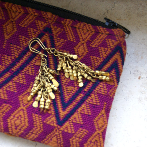 handcrafted pouch and purse from guatemala