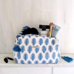 Kosmetiktasche_Lanee_blockprint_Cosmeticbag