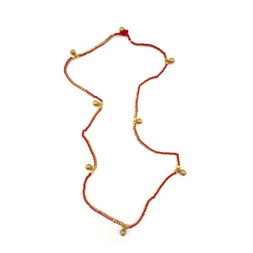 Dokra Halskette gold rot
