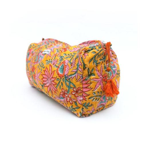 Kosmetiktasche Yasha , einzigartiger und fair produzierter Kulturbeutel