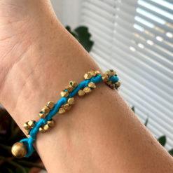 handgefertigtes dokra armband