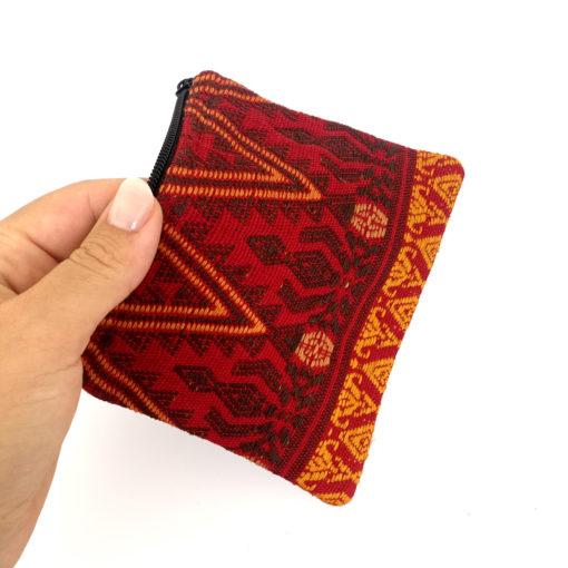 """handgefertigtes Täschchen """"Roja"""" aus Guatemala"""