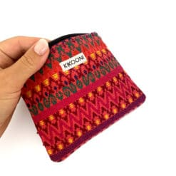 """handgefertigtes Täschchen """"Mare Pink"""" aus Guatemala"""